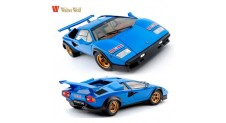 "1/18  LAMBORGHINI COUNTACH LP500S ""WALTER WOLF"" LIGHT BLUE"