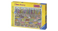 Ravensburger James Rizzi CITY 5,000 piece Jigsaw Puzzle