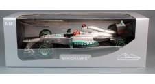 1/18 MERCEDES AMG PETRONAS F1 TEAM W03 - MICHAEL SCHUMACHER - LAST RACE - BRAZIL GP 2012