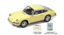 1/18 Porsche 901 (series-production), 1964, champagne yellow lim.Edition (5000 pieces)