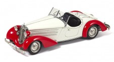 1/18 Audi 225 Front Roadster, 1935 (red/white) Limited Edition (4000 pieces)
