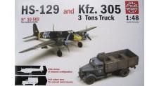 1/48 HS-129+KFZ 305
