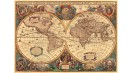 RAVENSBURGER Antique World Map 5000pcs Jigsaw Puzzle