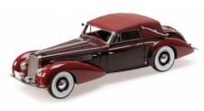 1/18 DELAGE D8-120 CABRIOLET - 1939 - RED/DARK RED