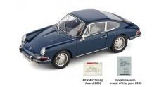 1/18 Porsche 901 (series–production), 1964, bali blue