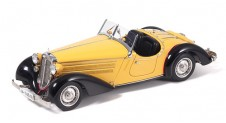 1/18 Audi 225 Front Roadster, 1935 (black/yellow) Limited Edition (4000 pieces)