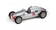 1/18 Auto Union Typ D, 1938/39 GP France 1939, (14) LIMITED EDITION 1500 pieces